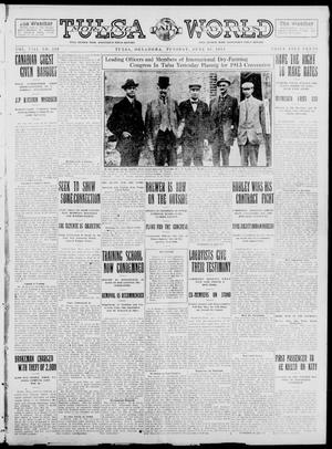 Primary view of object titled 'Tulsa Daily World (Tulsa, Okla.), Vol. 8, No. 229, Ed. 1 Tuesday, June 10, 1913'.