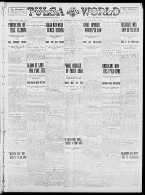 Primary view of object titled 'Tulsa Daily World (Tulsa, Okla.), Vol. 8, No. 230, Ed. 1 Wednesday, June 11, 1913'.
