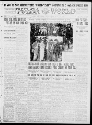 Primary view of object titled 'Tulsa Daily World (Tulsa, Okla.), Vol. 8, No. 236, Ed. 1 Wednesday, June 18, 1913'.