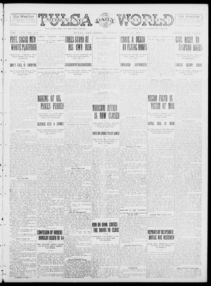 Primary view of object titled 'Tulsa Daily World (Tulsa, Okla.), Vol. 8, No. 238, Ed. 1 Friday, June 20, 1913'.