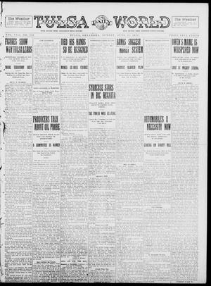 Primary view of object titled 'Tulsa Daily World (Tulsa, Okla.), Vol. 8, No. 240, Ed. 1 Sunday, June 22, 1913'.