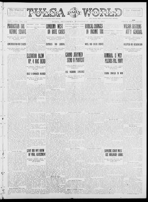 Primary view of object titled 'Tulsa Daily World (Tulsa, Okla.), Vol. 8, No. 242, Ed. 1 Wednesday, June 25, 1913'.