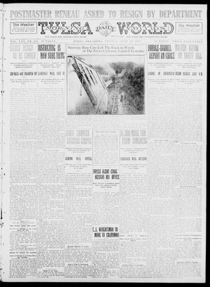 Primary view of object titled 'Tulsa Daily World (Tulsa, Okla.), Vol. 8, No. 246, Ed. 1 Sunday, June 29, 1913'.