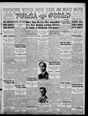 Primary view of object titled 'Tulsa Daily World (Tulsa, Okla.), Vol. 11, No. 205, Ed. 1 Saturday, May 13, 1916'.