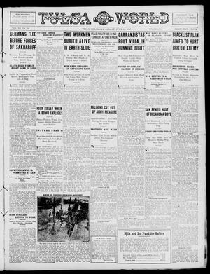Primary view of object titled 'Tulsa Daily World (Tulsa, Okla.), Vol. 11, No. 266, Ed. 1 Sunday, July 23, 1916'.