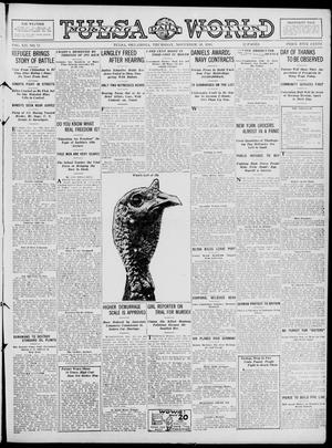 Primary view of object titled 'Tulsa Daily World (Tulsa, Okla.), Vol. 12, No. 71, Ed. 1 Thursday, November 30, 1916'.