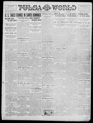 Primary view of object titled 'Tulsa Daily World (Tulsa, Okla.), Vol. 12, No. 72, Ed. 1 Friday, December 1, 1916'.