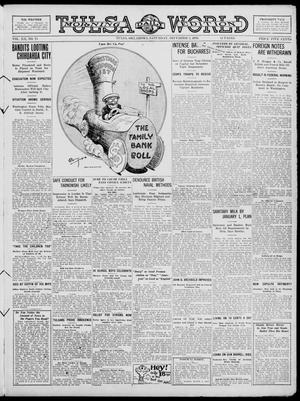 Primary view of object titled 'Tulsa Daily World (Tulsa, Okla.), Vol. 12, No. 73, Ed. 1 Saturday, December 2, 1916'.