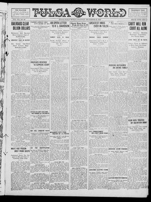Primary view of object titled 'Tulsa Daily World (Tulsa, Okla.), Vol. 12, No. 96, Ed. 1 Tuesday, December 26, 1916'.