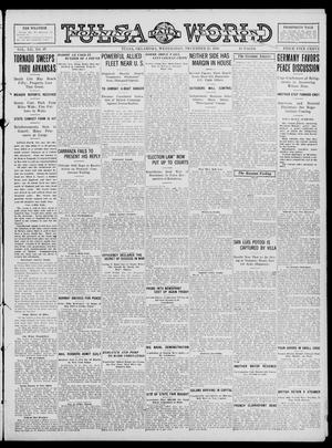 Primary view of object titled 'Tulsa Daily World (Tulsa, Okla.), Vol. 12, No. 97, Ed. 1 Wednesday, December 27, 1916'.