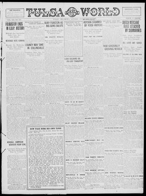 Primary view of object titled 'Tulsa Daily World (Tulsa, Okla.), Vol. 12, No. 158, Ed. 1 Sunday, February 25, 1917'.