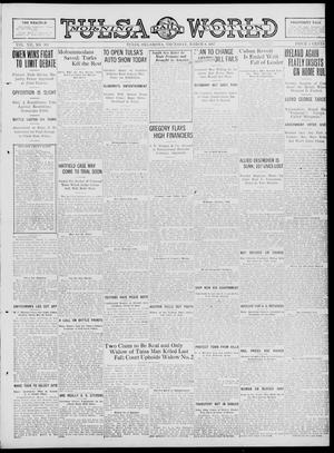 Primary view of object titled 'Tulsa Daily World (Tulsa, Okla.), Vol. 12, No. 168, Ed. 1 Thursday, March 8, 1917'.