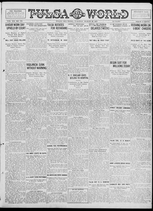 Primary view of object titled 'Tulsa Daily World (Tulsa, Okla.), Vol. 12, No. 179, Ed. 1 Tuesday, March 20, 1917'.