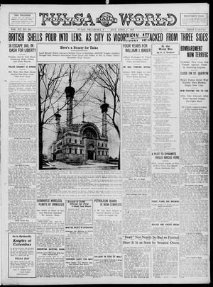 Primary view of object titled 'Tulsa Daily World (Tulsa, Okla.), Vol. 12, No. 205, Ed. 1 Sunday, April 15, 1917'.