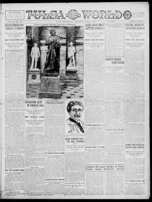 Primary view of object titled 'Tulsa Daily World (Tulsa, Okla.), Vol. 12, No. 258, Ed. 1 Thursday, June 7, 1917'.