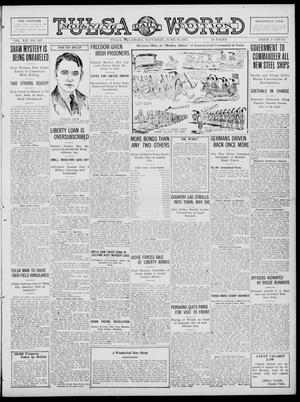 Primary view of object titled 'Tulsa Daily World (Tulsa, Okla.), Vol. 12, No. 267, Ed. 1 Saturday, June 16, 1917'.