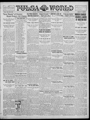 Primary view of object titled 'Tulsa Daily World (Tulsa, Okla.), Vol. 12, No. 338, Ed. 1 Saturday, August 25, 1917'.