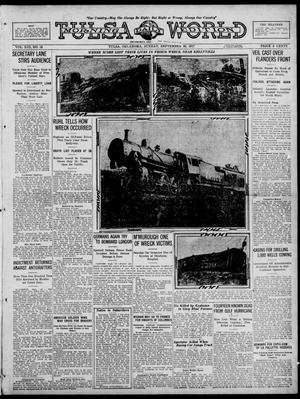 Primary view of object titled 'Tulsa Daily World (Tulsa, Okla.), Vol. 13, No. 12, Ed. 1 Sunday, September 30, 1917'.