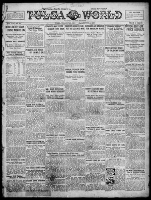 Primary view of object titled 'Tulsa Daily World (Tulsa, Okla.), Vol. 13, No. 13, Ed. 1 Monday, October 1, 1917'.