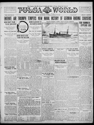 Primary view of object titled 'Tulsa Daily World (Tulsa, Okla.), Vol. 13, No. 33, Ed. 1 Sunday, October 21, 1917'.