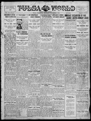 Primary view of object titled 'Tulsa Daily World (Tulsa, Okla.), Vol. 13, No. 44, Ed. 1 Thursday, November 1, 1917'.
