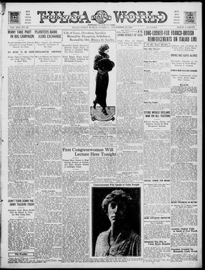 Primary view of object titled 'Tulsa Daily World (Tulsa, Okla.), Vol. 13, No. 70, Ed. 1 Tuesday, November 27, 1917'.