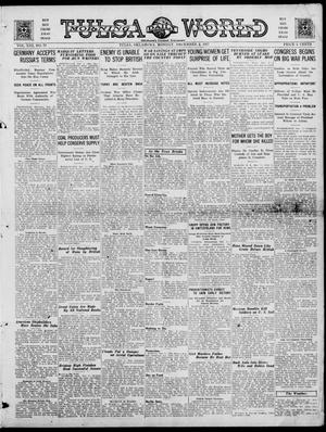 Primary view of object titled 'Tulsa Daily World (Tulsa, Okla.), Vol. 13, No. 77, Ed. 1 Monday, December 3, 1917'.