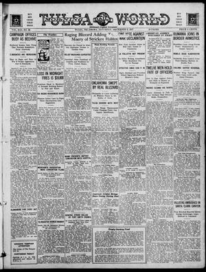 Primary view of object titled 'Tulsa Daily World (Tulsa, Okla.), Vol. 13, No. 82, Ed. 1 Saturday, December 8, 1917'.