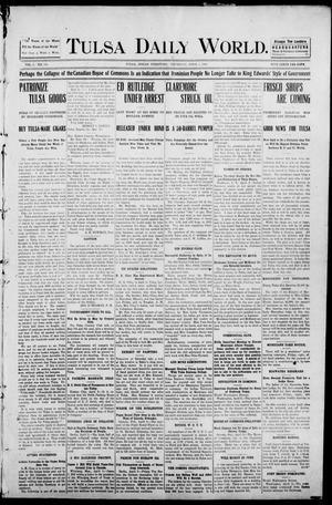Primary view of object titled 'Tulsa Morning News and Tulsa Daily World. (Tulsa, Indian Terr.), Vol. 1, No. 164, Ed. 1 Thursday, April 5, 1906'.