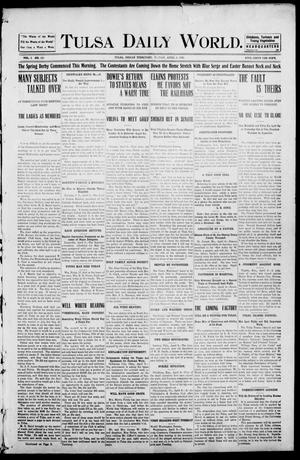 Primary view of object titled 'Tulsa Morning News and Tulsa Daily World. (Tulsa, Indian Terr.), Vol. 1, No. 165, Ed. 1 Friday, April 6, 1906'.