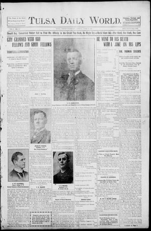 Primary view of object titled 'Tulsa Morning News and Tulsa Daily World. (Tulsa, Indian Terr.), Vol. 1, No. 167, Ed. 1 Monday, April 9, 1906'.