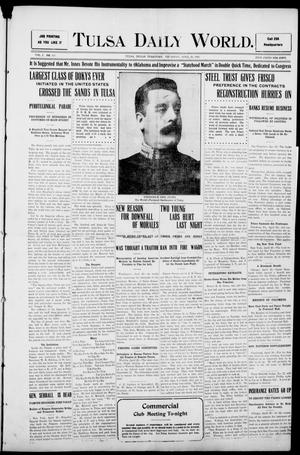 Primary view of object titled 'Tulsa Morning News and Tulsa Daily World. (Tulsa, Indian Terr.), Vol. 1, No. 183, Ed. 1 Thursday, April 26, 1906'.