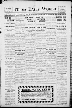 Primary view of object titled 'Tulsa Morning News and Tulsa Daily World. (Tulsa, Indian Terr.), Vol. 1, No. 187, Ed. 1 Wednesday, May 2, 1906'.