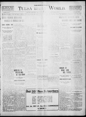 Primary view of object titled 'Tulsa Morning News and Tulsa Daily World. (Tulsa, Indian Terr.), Vol. 1, No. 203, Ed. 1 Tuesday, May 22, 1906'.