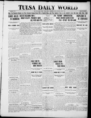 Primary view of object titled 'Tulsa Daily World (Tulsa, Indian Terr.), Vol. 1, No. 225, Ed. 1 Sunday, June 17, 1906'.