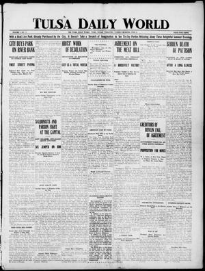 Primary view of object titled 'Tulsa Daily World (Tulsa, Indian Terr.), Vol. 1, No. 225, Ed. 1 Tuesday, June 19, 1906'.
