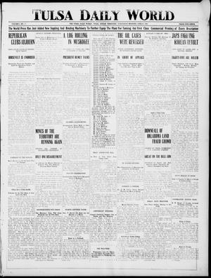Primary view of object titled 'Tulsa Daily World (Tulsa, Indian Terr.), Vol. 1, No. 225, Ed. 1 Wednesday, June 20, 1906'.