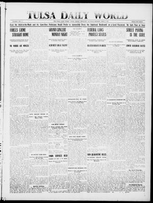 Primary view of object titled 'Tulsa Daily World (Tulsa, Indian Terr.), Vol. 1, No. 229, Ed. 1 Saturday, June 23, 1906'.
