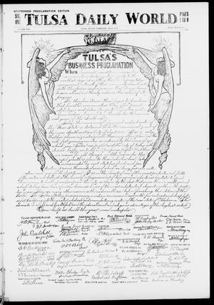 Primary view of object titled 'Tulsa Daily World (Tulsa, Indian Terr.), Ed. 1 Sunday, July 1, 1906'.