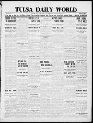 Primary view of object titled 'Tulsa Daily World (Tulsa, Indian Terr.), Vol. 1, No. 240, Ed. 1 Saturday, July 7, 1906'.