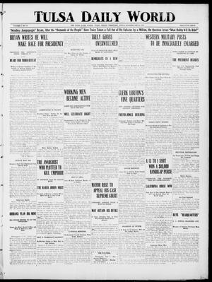Primary view of object titled 'Tulsa Daily World (Tulsa, Indian Terr.), Vol. 1, No. 240, Ed. 1 Sunday, July 8, 1906'.