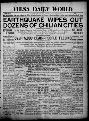 Tulsa Daily World (Tulsa, Indian Terr.), Vol. 1, No. 275, Ed. 1 Sunday, August 19, 1906