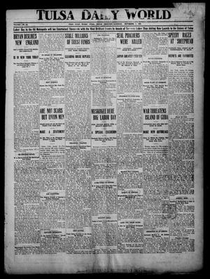 Primary view of object titled 'Tulsa Daily World (Tulsa, Indian Terr.), Vol. 1, No. 283, Ed. 1 Saturday, September 1, 1906'.