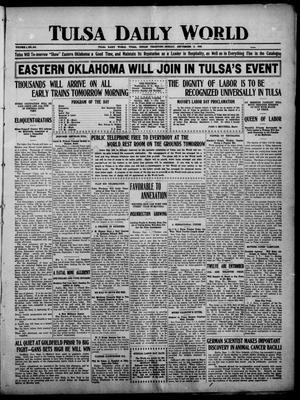 Primary view of object titled 'Tulsa Daily World (Tulsa, Indian Terr.), Vol. 1, No. 284, Ed. 1 Sunday, September 2, 1906'.