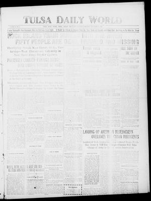 Primary view of object titled 'Tulsa Daily World (Tulsa, Indian Terr.), Vol. 2, No. 4, Ed. 1 Wednesday, September 19, 1906'.