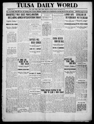 Primary view of object titled 'Tulsa Daily World (Tulsa, Indian Terr.), Vol. 2, No. 10, Ed. 1 Wednesday, September 26, 1906'.