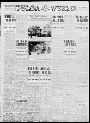 Primary view of object titled 'Tulsa Daily World (Tulsa, Okla.), Vol. 8, No. 254, Ed. 1 Wednesday, July 9, 1913'.