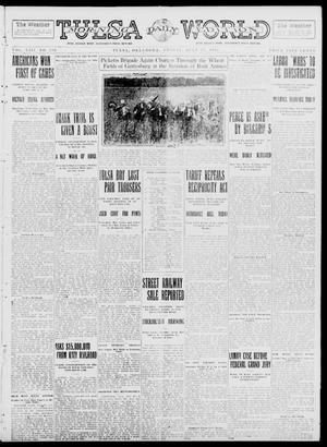 Primary view of object titled 'Tulsa Daily World (Tulsa, Okla.), Vol. 8, No. 256, Ed. 1 Friday, July 11, 1913'.