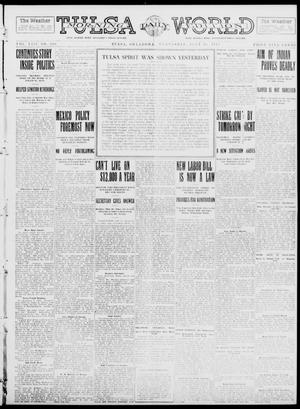 Primary view of object titled 'Tulsa Daily World (Tulsa, Okla.), Vol. 8, No. 260, Ed. 1 Wednesday, July 16, 1913'.