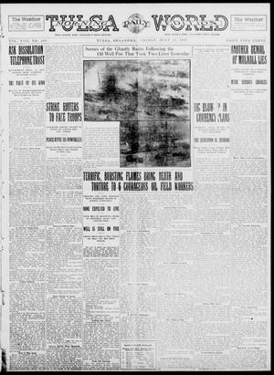 Primary view of object titled 'Tulsa Daily World (Tulsa, Okla.), Vol. 8, No. 268, Ed. 1 Friday, July 25, 1913'.